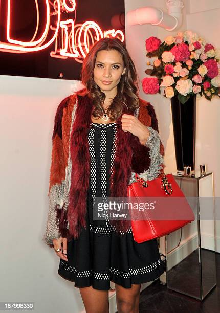 Ekaterina Zalitko attends the opening of Dior Beauty Boutique on November 14 2013 in Covent Garden London England