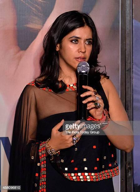 Ekta Kapoor at the premiere of Best of Me movie in Mumbai
