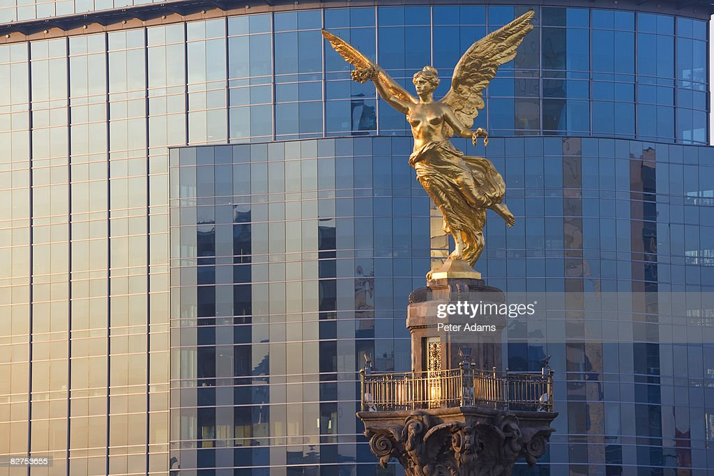 El Angel, Mexico City, Mexico : Stock Photo