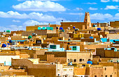 El Atteuf, an ancient berber town in the M'Zab Valley in Algeria