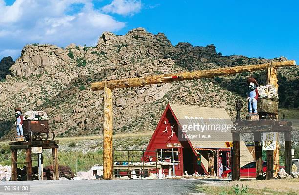 El Carma rock shop, Texas Creek, Colorado, United States of America, North America