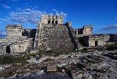 El Castillo Tulum Quintana Roo Mexico Mayan civilisation
