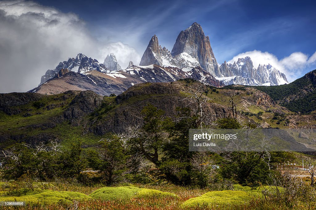 El Chalten in Glacier National Park in Patagonia Argentina, December ...