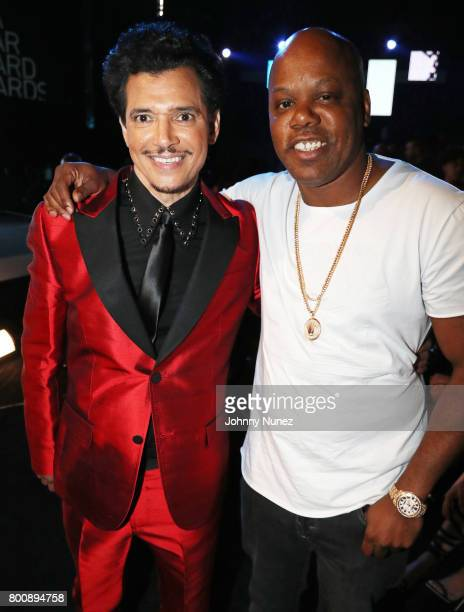 El DeBarge and Too Short at the 2017 BET Awards at Microsoft Theater on June 25 2017 in Los Angeles California