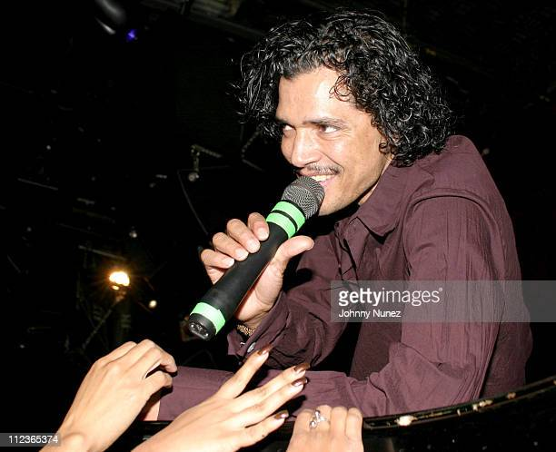 El DeBarge during MBK's RB Live Featuring Chico and El DeBarge November 10 2003 at BB King in New York City New York United States