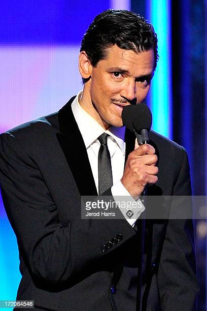 El DeBarge performs during the 2013 BET Awards at Nokia Plaza LA LIVE on June 30 2013 in Los Angeles California