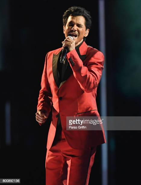 El DeBarge performs onstage at 2017 BET Awards at Microsoft Theater on June 25 2017 in Los Angeles California