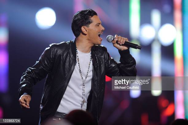 El Debarge performs onstage during the 2010 BET Awards held at the Shrine Auditorium on June 27 2010 in Los Angeles California