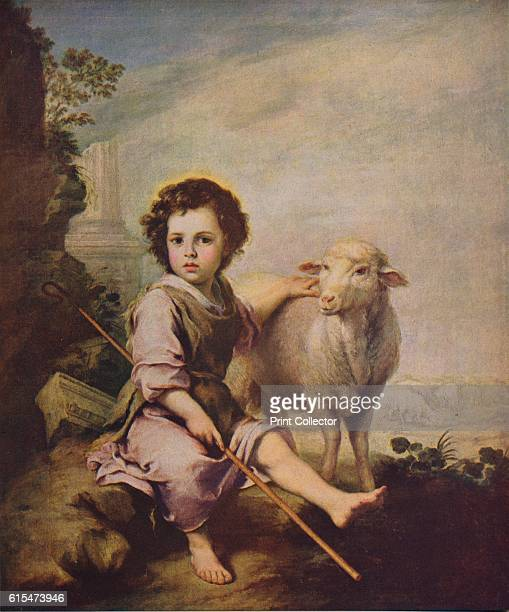 El Divino Pastor' The image of the Good Shepherd was seen as a figure of Christ who saves and cares for his sheep also an allegory of the Eucharist...