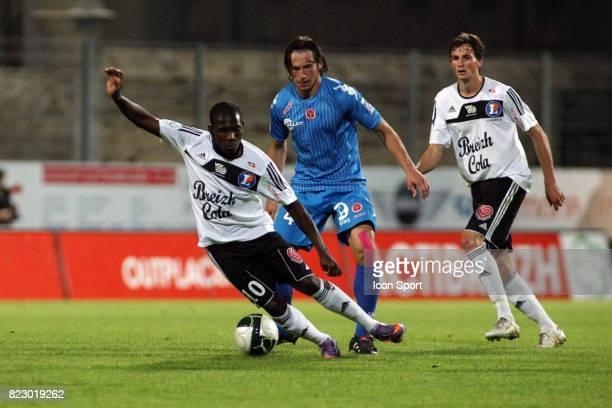 El Fardou Ben MOHAMED / Grzegorz KRYCHOWIAK / Fabien JARSALE Vannes / Reims 6eme journee de Ligue 2
