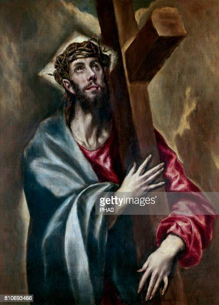 El Greco Mannerism Late Renaissance Christ carrying The Cross Oil on canvas Museo del Prado