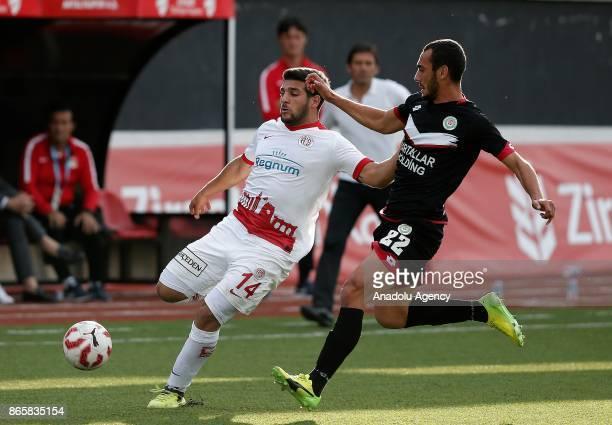 El Kabir of Antalyaspor in action during the 4th round of the Ziraat Turkish Cup soccer match between Etimesgut Belediyespor and Antalyaspor at...