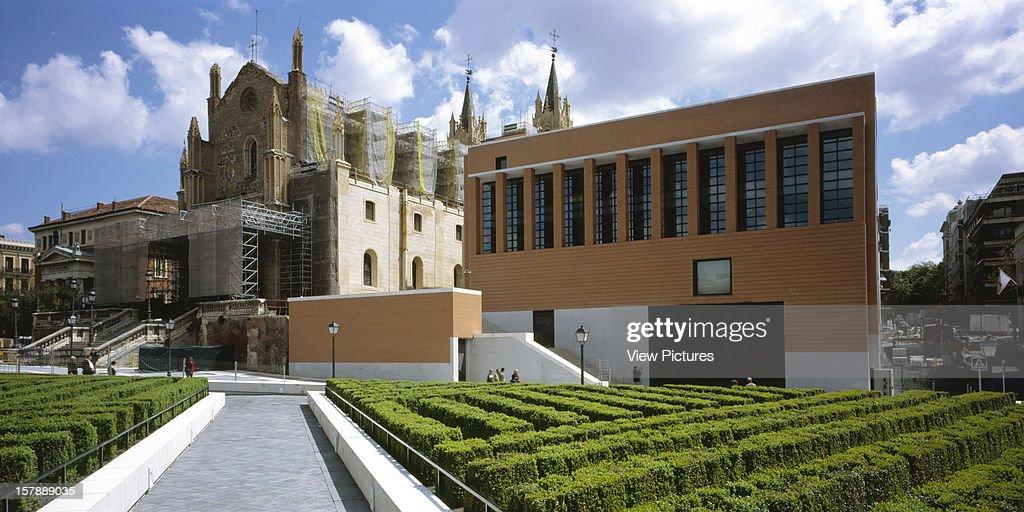 El Prado Museum Madrid Spain Architect Rafael Moneo El Prado Museum
