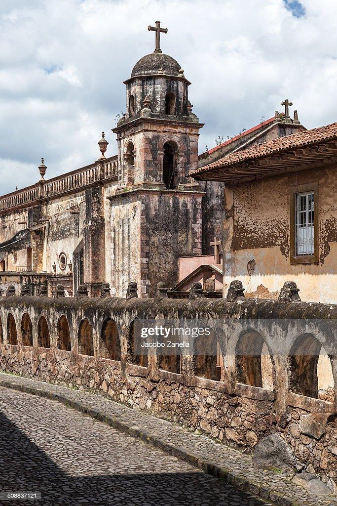 El Sagrario church, Patzcuaro, Mexico : Stock Photo