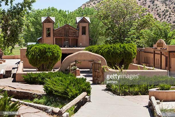 El Santuario hacer Chimayo iglesia de Nuevo México
