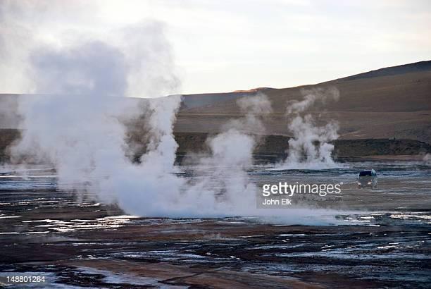 El Tatio geysers.