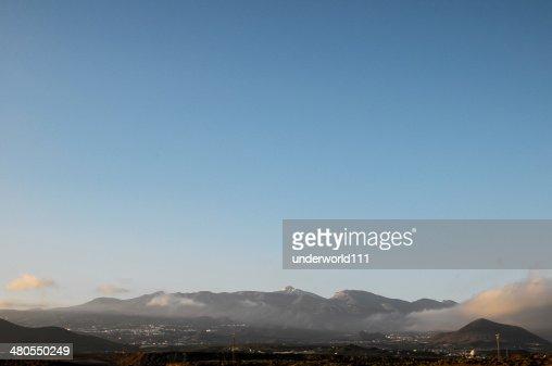 De taide en un cielo azul : Foto de stock