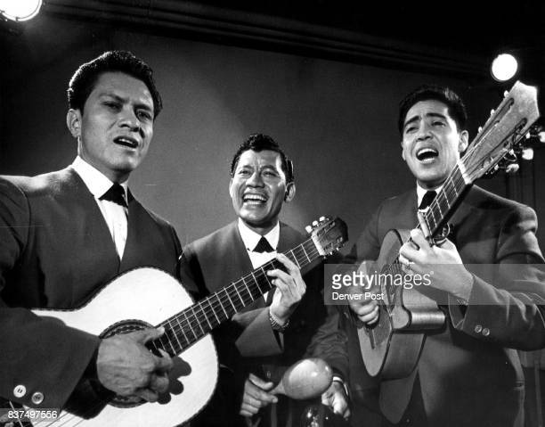 El Trio Continental from Mexico Antonio Lozano left Jose Valdez and Manuel Ramirez Torresreturns to Festival Espanol at 930 pm Sunday on KCTO channel...