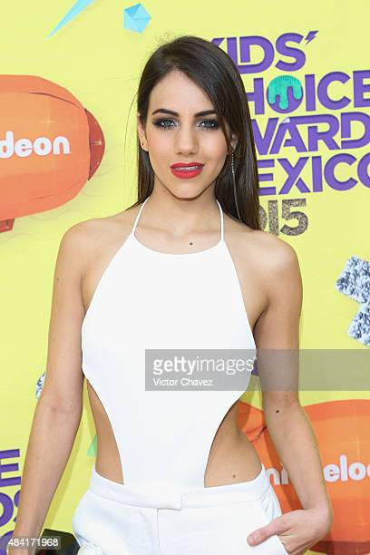 Ela Velden arrives at Nickelodeon Kids' Choice Awards Mexico 2015 Red Carpet at Auditorio Nacional on August 15 2015 in Mexico City Mexico