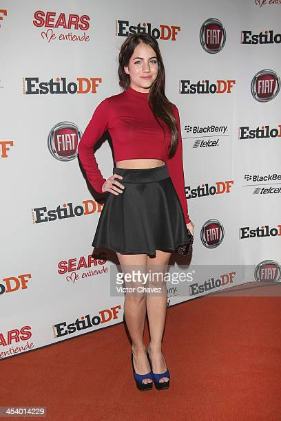 Ela Velden attends EstiloDF 3rd anniversary at Joy Room on November 27 2013 in Mexico City Mexico