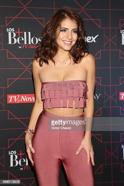 Ela Velden attends Los Bellos de TvYNovelas 2016 at Bosque de Chapultepec on August 31 2016 in Mexico City Mexico