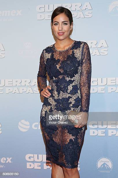 Ela Velden attends the 'Daddy's Home' red carpet premiere at Cinemex Antara Polanco on January 25 2016 in Mexico City Mexico