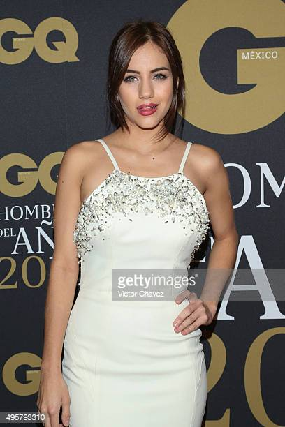 Ela Velden attends the GQ Mexico Men of The Year 2015 awards at Live Aqua Bosques hotel on November 4 2015 in Mexico City Mexico