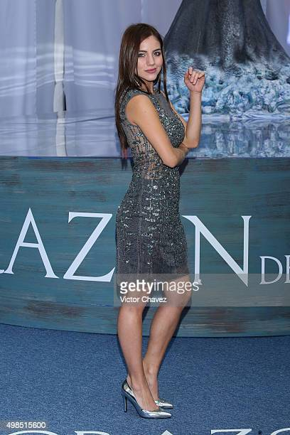 Ela Velden attends the 'In the Heart of the Sea' Mexico City premiere at Cinemex Antara Polanco on November 23 2015 in Mexico City Mexico