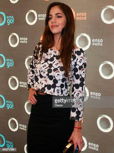Ela Velden poses during the innauguration of the Enso Media new offices on november 11 2013 in Mexico City Mexico
