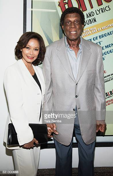 Elaine Baylor and Elgin Baylor attend the opening night of 'I Only Have Eyes For You' at The Ricardo Montalban Theatre on May 13 2016 in Hollywood...