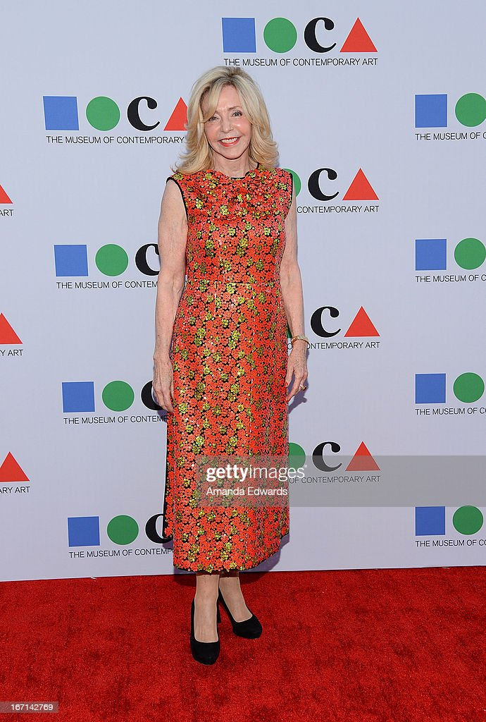 Elaine Glaser arrives at the 'Yesssss!' 2013 MOCA Gala, celebrating the opening of the exhibition Urs Fischer at MOCA Grand Avenue on April 20, 2013 in Los Angeles, California.