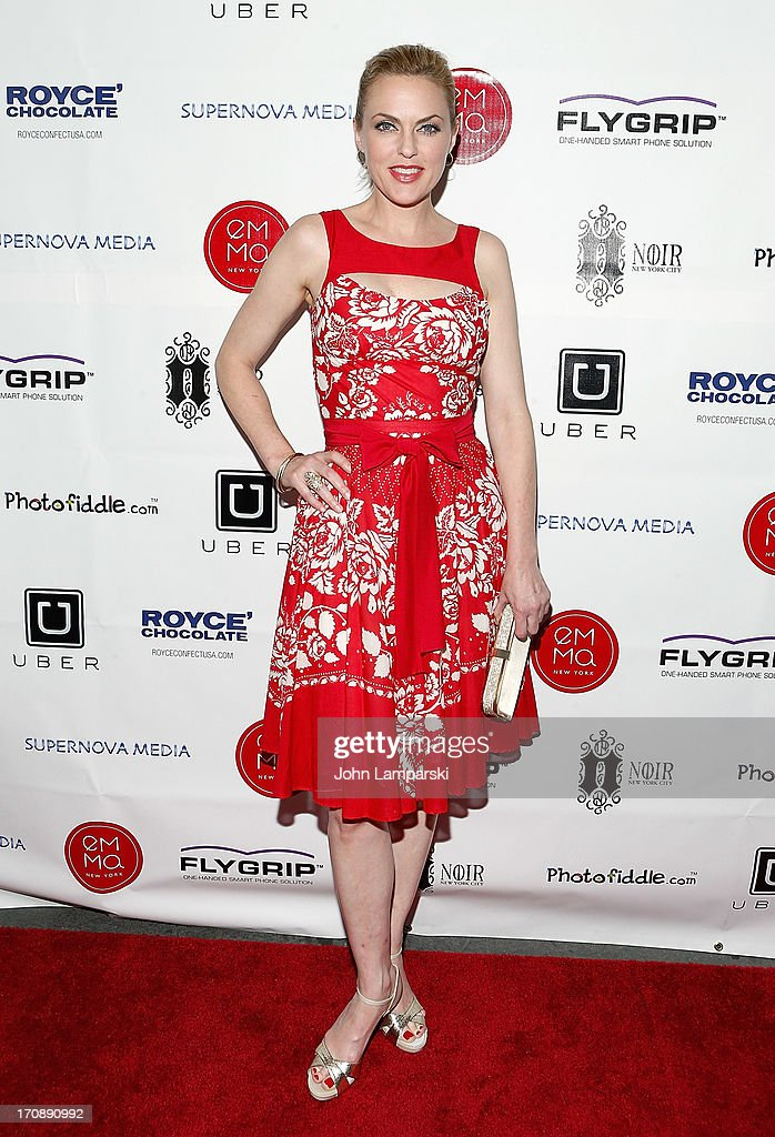 Elaine Hendrix attends The Inaugural St. Jude Spring Social at Noir NYC on June 19, 2013 in New York City.