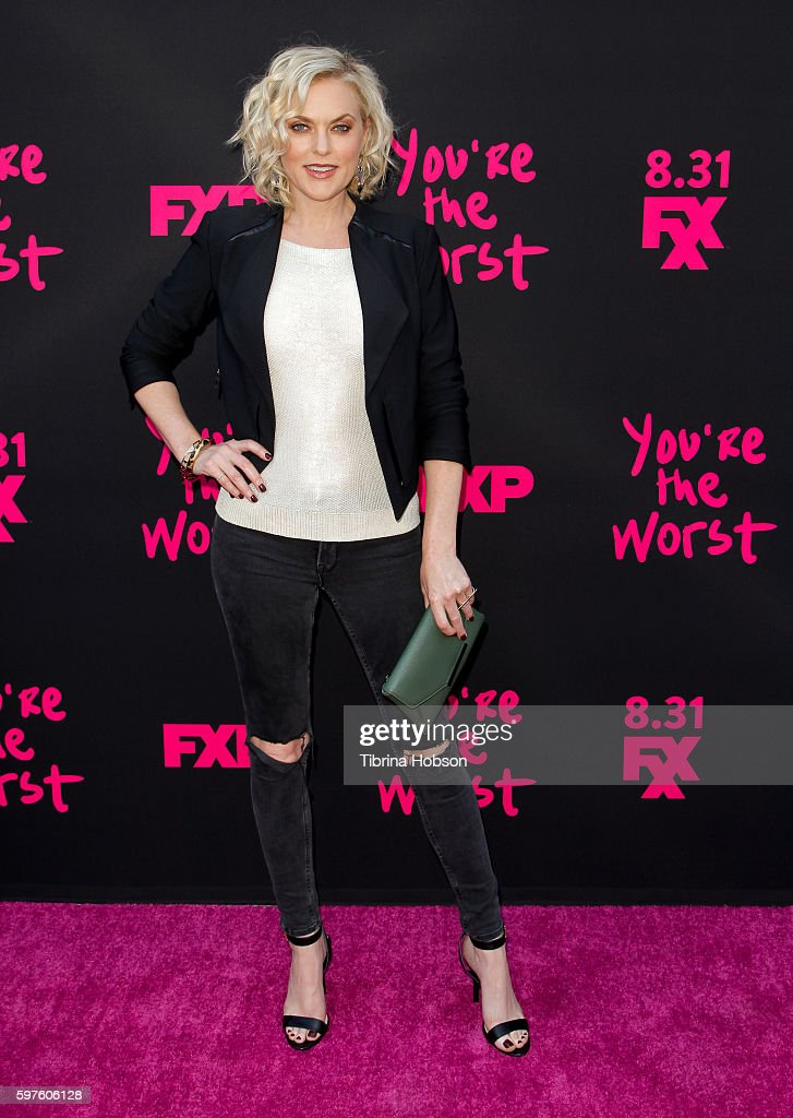 "Premiere Of FXX's ""You're The Worst"" Season 3 - Arrivals"