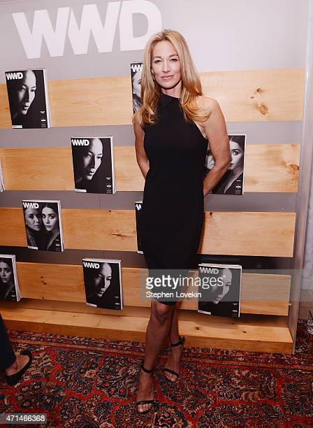 Elaine Irwin attends the WWD Relaunch Party at The NoMad Hotel on April 28 2015 in New York City