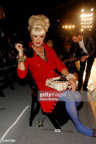 Elaine Lancaster attends Richie Rich 2011 Fashion Show at The Studio at Lincoln Center on September 9 2010 in New York City
