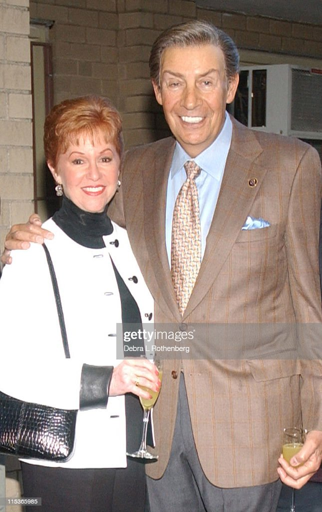 Elaine Orbach and Jerry Orbach during 1130 at New York City in New York City, New York, United States.