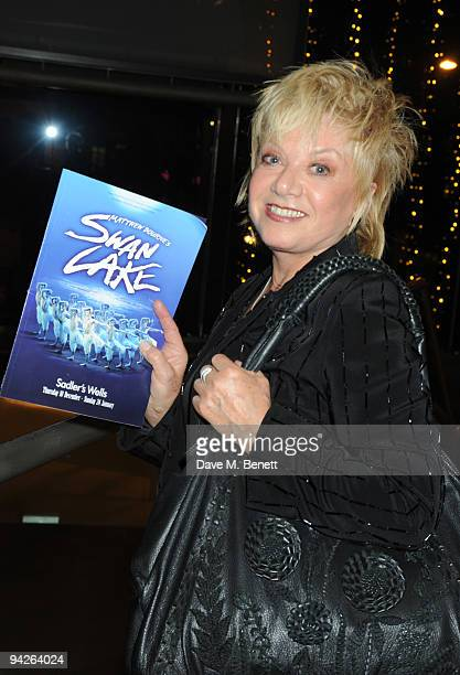 Elaine Page attends the press night of Matthew Bourne's Swan Lake at Sadler's Wells on December 10 2009 in London England