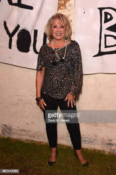 Elaine Paige attends the 50th anniversary production of 'Hair The Musical' at The Vaults on October 17 2017 in London England