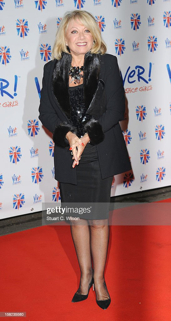 Elaine Paige attends the after party for the press night of 'Viva Forever', a musical based on the music of The Spice Girls at Victoria Embankment Gardens on December 11, 2012 in London, England.