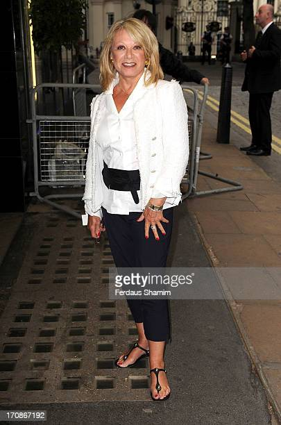 Elaine Paige attends the gala screening of 'Venus and Serena' at The Curzon Mayfair on June 19 2013 in London England