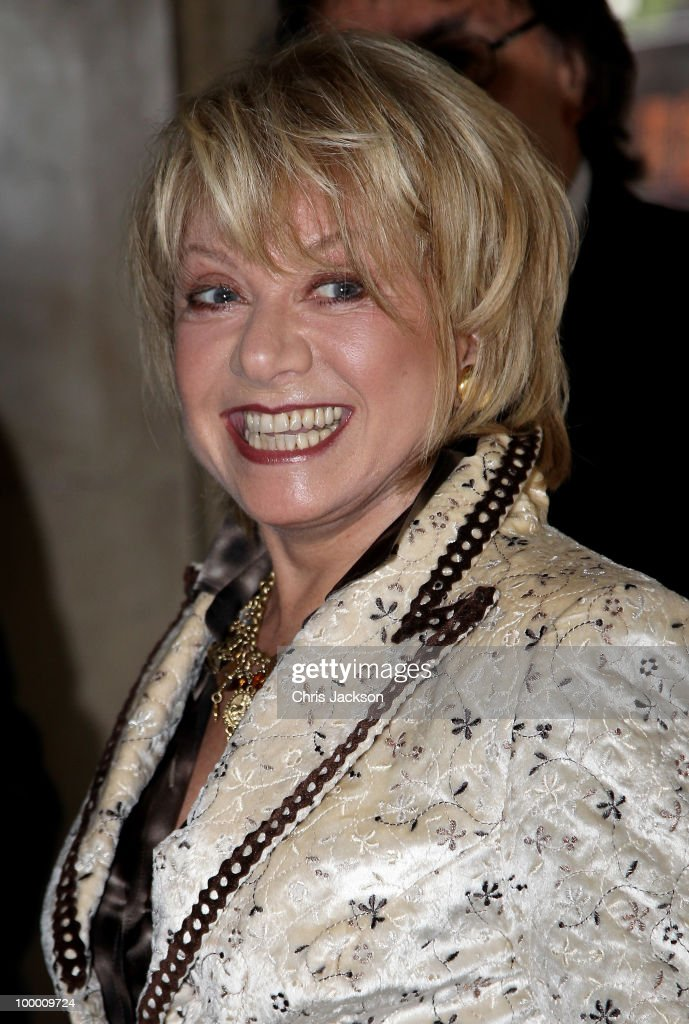 Elaine Paige attends the Ivor Novello Awards at Grosvenor House, on May 20, 2010 in London, England.