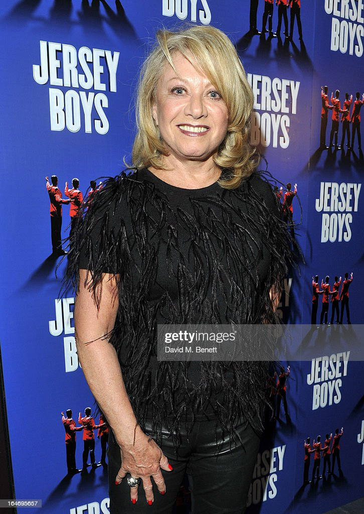 Elaine Paige attends the Jersey Boys 5th anniversary performance after party at the Paramount Club on March 26, 2013 in London, England.