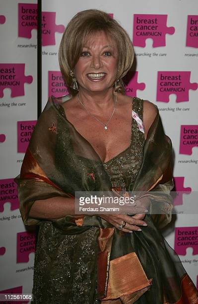 Elaine Paige attends The Pink Ribon Ball 2007 at the Dorchester Hotel on October 6 2007 in London
