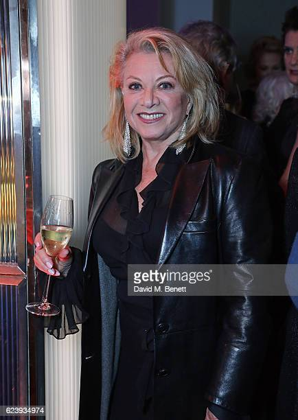 Elaine Paige attends the press night after party for 'Half A Sixpence' at The Prince of Wales Theatre on November 17 2016 in London England