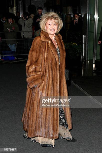 Elaine Paige during Laurence Olivier Awards Arrivals at London Hilton in London Great Britain