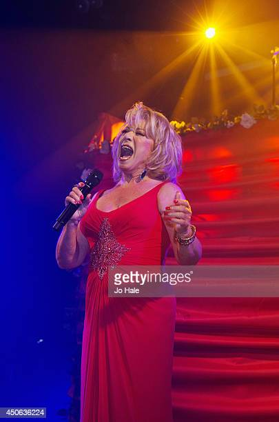 Elaine Paige performs on stage for GAY at Heaven on June 14 2014 in London United Kingdom