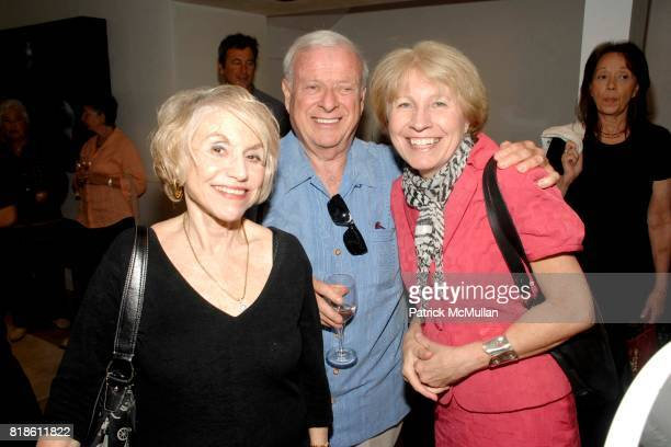 Elaine Rivlin David Rivlin and Genevieve Linnehan attend Elie Tahari hosts opening party for EQUUS with Alec Baldwin and Cast at Elie Tahari on June...