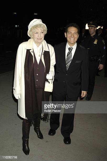 Elaine Stritch and Michael Feinstein during Cocktail Party for TRH The Prince of Wales and The Duchess of Cornwall at the Museum of Modern Art...