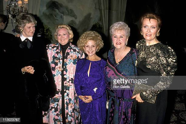 Elaine Stritch Barbara Cook Brenda Lee Margaret Whiting and Maureen McGovern