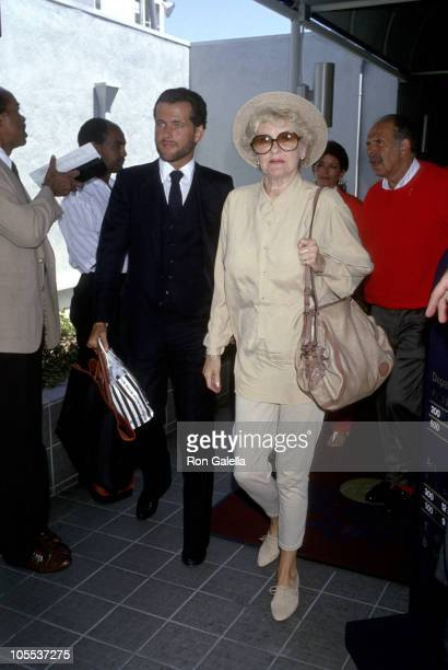 Elaine Stritch during Elaine Stritch Sighting at the Los Angeles International Airport July 29 1990 at Los Angeles International Airport in Los...